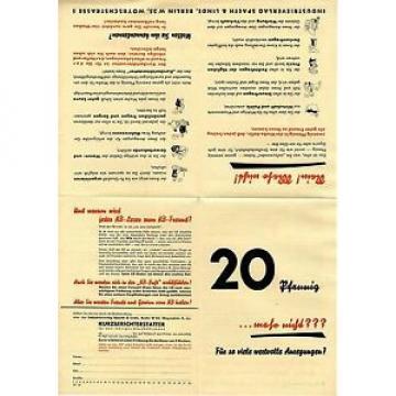 Industrieverlag Spaeth & Linde Berlin WERBEBEILAGE Historische Reklame von 1938