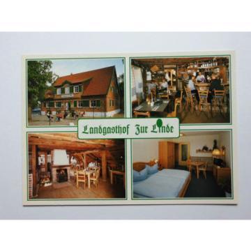 AK Landgasthof Gasthof Zur Linde Middelhagen ungelaufen
