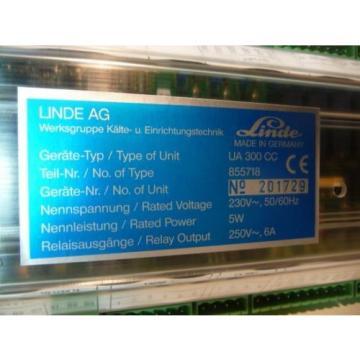Linde  UA 300CC Kühlstellenregler Regler Relais