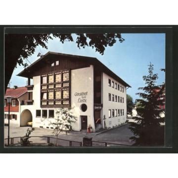 schöne AK Weiler, Hotel-Gasthof zur Linde