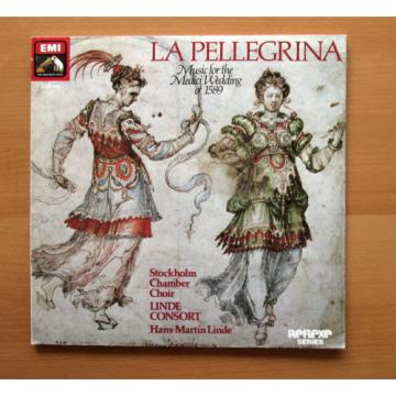 SLS 1301143 La Pellegrina Music For Medici Wedding 1589 Linde Consort 2xLP NM