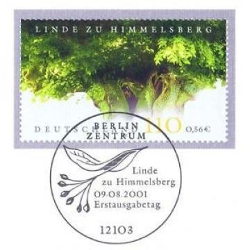 BRD 2001: Himmelsberg-Linde Nr 2208 mit dem Berliner Ersttags-Sonderstempel! 1A!