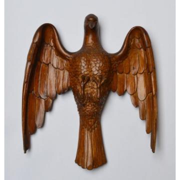 Holz Skulptur handgeschnitzt Taube Heiliger Geist Linde 19. Jh. 28 x 25 cm