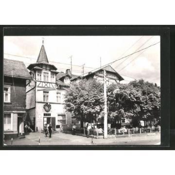 tolle AK Finsterbergen, Volkshaus Hotel zur Linde