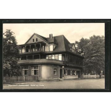 alte AK Sitzendorf, Hotel zur Linde