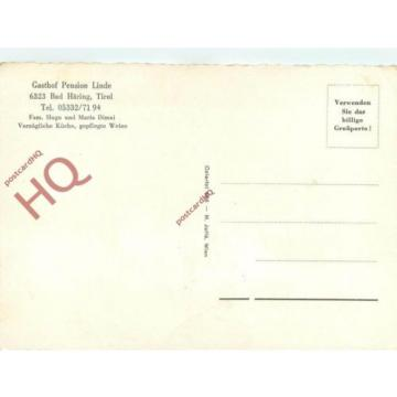 Postcard- Bad Haring, Gasthof Pension Linde