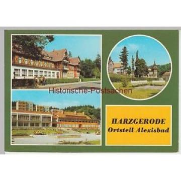 (102683) AK Harzgerode, Mehrbildkarte, Alexisbad, Hotel Linde, Cafe Exquisit 198