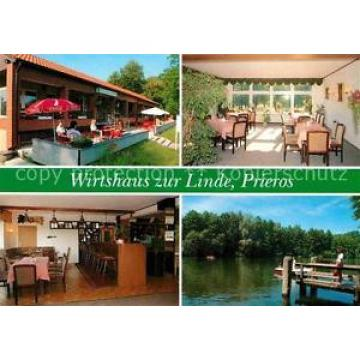 72676121 Prieros Wirtshaus zur Linde Gemeindepark Badesee Steg Heidesee