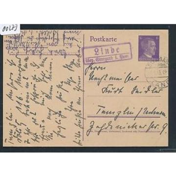 00273) Landpost Ra2 Linde über Stargard i.Pom. GA 1943