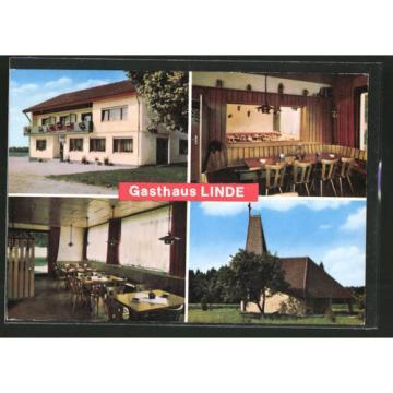 alte AK Nietheim, Gasthaus Linde