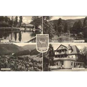 72377074 Sitzendorf Thueringen Schwarza Hotel Linde Badeanstalt Sitzendorf Schwa