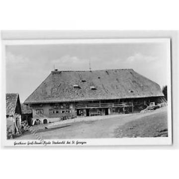 39110085 - Stockwald bei St. Georgen. Gasthaus Gross-Bauer-Linde ungelaufen  Gut