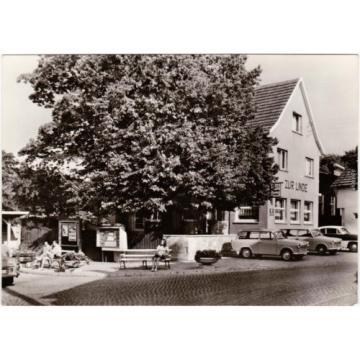 Foto Ansichtskarte Fischbach Inselberg Waltershausen Gasthaus Zur Linde 1975