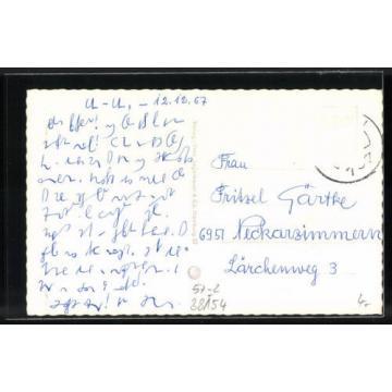 alte AK Königslutter, Kaiser-Lothar-Linde 1967