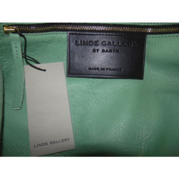 LINDE GALLERY ST BARTH -Corossol L - GRAND SAC CABAS - 100% CUIR de veau-genuine