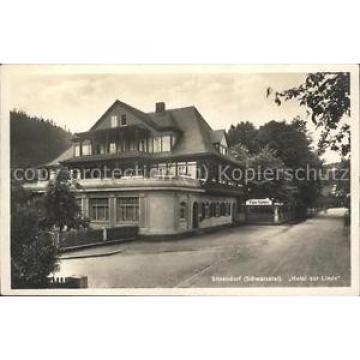 41466594 Sitzendorf Thueringen Hotel zur Linde Sitzendorf Schwarzatal