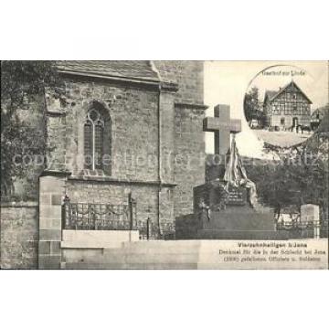 41465153 Jena Gasthof zur Linde Vierzehnheiligen Denkmal Schlacht Jena