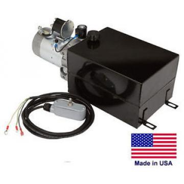 HYDRAULIC POWER UNIT - Solenoid Operation  Single Acting  12V DC - 2,500 PSI
