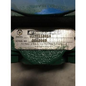 PARKER HYDRAULIC PUMP MHP50A298BE0525-07 Rebuilt Model 3139112018