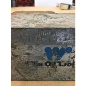 "Willis Oil Tool Type M1 5000WP 1"" Inlet 1"" Outlet"