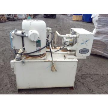 Hydraulic Power Unit w/ 25HP 1750RPM Motor & Air-Cooled Heat Exchanger