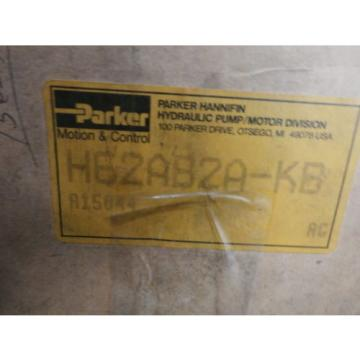 Parker H62AB2A-KB Gear Pump **New**