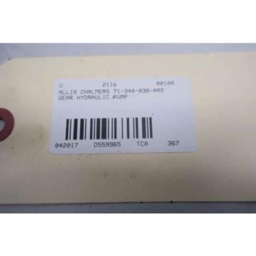 JOHN S BARNES GC-1468-A-2-C HYDRAULIC GEAR PUMP D559965