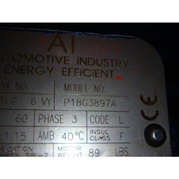 PARKER HYDRAULIC POWER UNIT HPU7072-MD876481_09291_MOTOR: P18G3897A