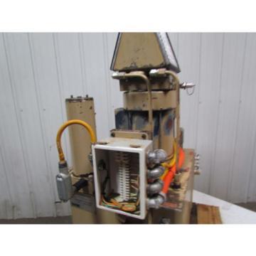 Fauver VPU-PVB6-5BB-25-0-R-1-A Hydraulic power unit 5HP 3PH 1725 RPM 30 Gal tank