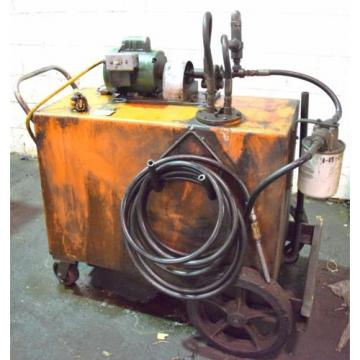 CHICAGO 3/4HP FLUID TRANSFER PUMP/TANK CART-115V