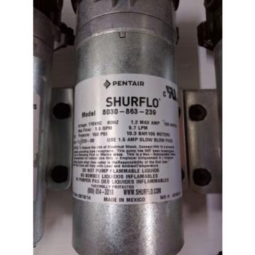 Shurflo 8030-863-239 120V Replacement Pump - Carpet Cleaning Machine