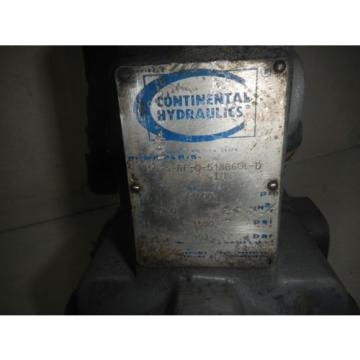 Continental PVR15-15B15-RF-0-518-BGOLD 15GPM Hydraulic Press Comp Vane Pump