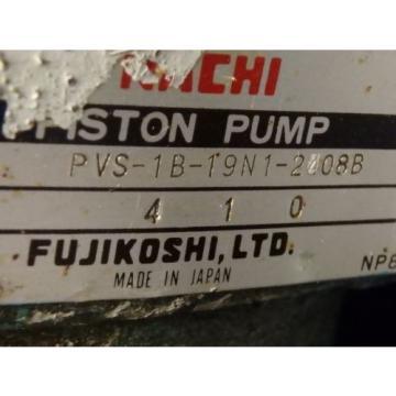 NACHI PISTON PUMP_PVS-1B-19N1-2408B_PVS1B19N12408B