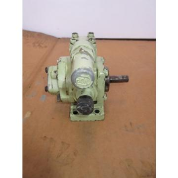 NOP Nippon Oil Pump Trochoid pump TOP-204HW GVB WORKING BEFORE REMOVAL