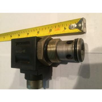 EATON VICKERS SOLENOID VALVE REGULATOR CARTAGE #02-178106