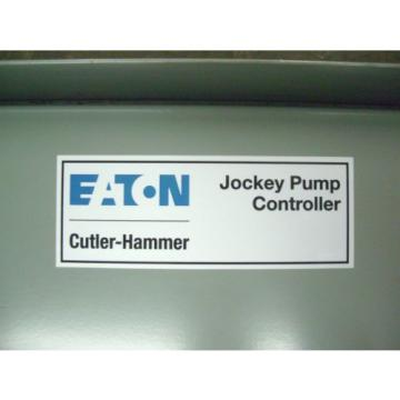 Eaton Cutler Hammer Jockey Pump Controller FDJP 75 B 60Hz 115v 75hp 1ph 60Hz