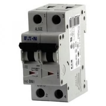 Eaton IEC Supplementary Protector, 10 Amps, Number of Poles: 2, 277/480VAC AC