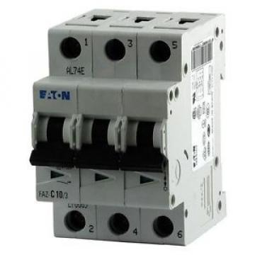 Eaton IEC Supplementary Protector, 6 Amps, Number of Poles: 3, 277/480VAC AC