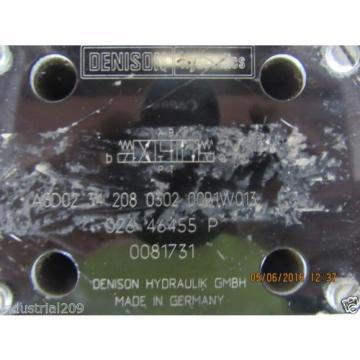 DENISON HYDRAULIC VALVE A3D02342080302 00B1W013 Origin