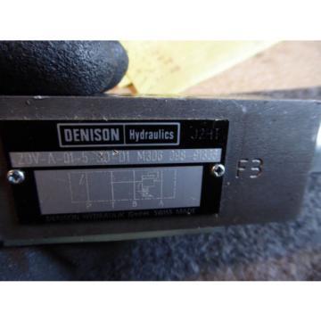 Origin DENISON FLOW CONTROL VALVE # ZDV-A-01-5-S0-D1 M306 098-91366