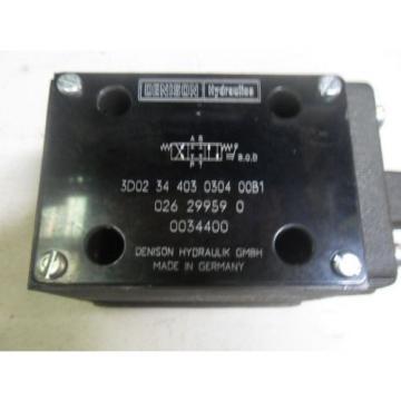 L10 1 Origin DENISON HYD3D0234403030400A MANUAL HYDRAULIC VALVE