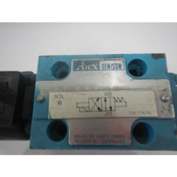Denison D03 A3001 35 151 01 01 00B5 01551 Hydraulic Directional Control Valve