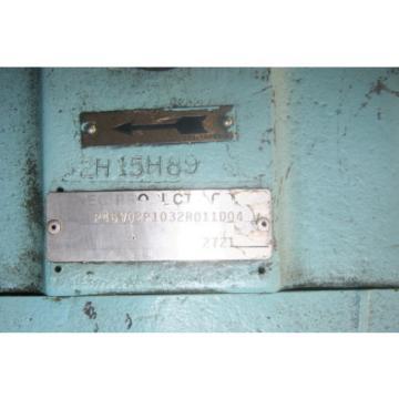 Denison Hydraulic Pump amp; Mount w Servo Control 336 HP P46V-02P-103-2R01-1D04