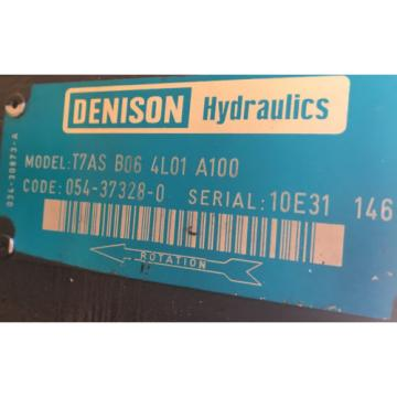 Origin Hydraulic Unit Denison Parker 6HP 48V DC Unused Miilitary