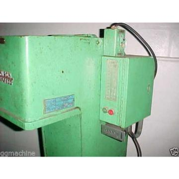 2 TON DENISON MODEL A HYDRAULIC C FRAME PUNCH PRESS,DWELL,DOUBLE PALM BUTTONS