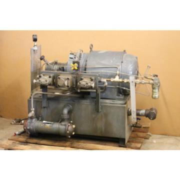 Hydraulic power supply, Power unit, HPU, 20hp, 3000 PSI, 220/440V, Denison
