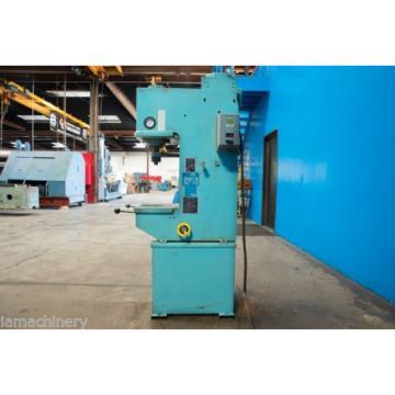 6 Ton Denison Multipress Model WR06 Hydraulic C- Frame Press, S/N 23319