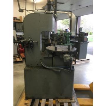 Rotary C Frame Press Air-Hydraulic Press, Index table,Multi Press, Denison Press