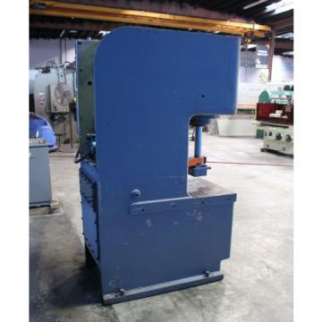 25 Ton Denison Multipress Model FW-25 Hydraulic C-Frame Press