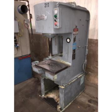 1973 Denison 10-Ton Hydraulic Press, model T100M, WARRANTY